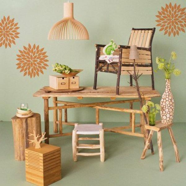 La d co de la maison objets en bois for Que faire avec du bois de palette