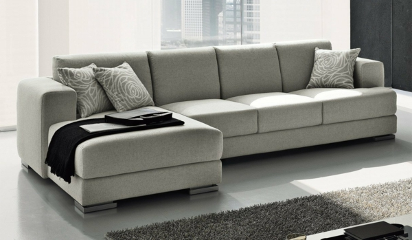 Le design du canap convertible pratique et confortable - Canape conforama gris ...