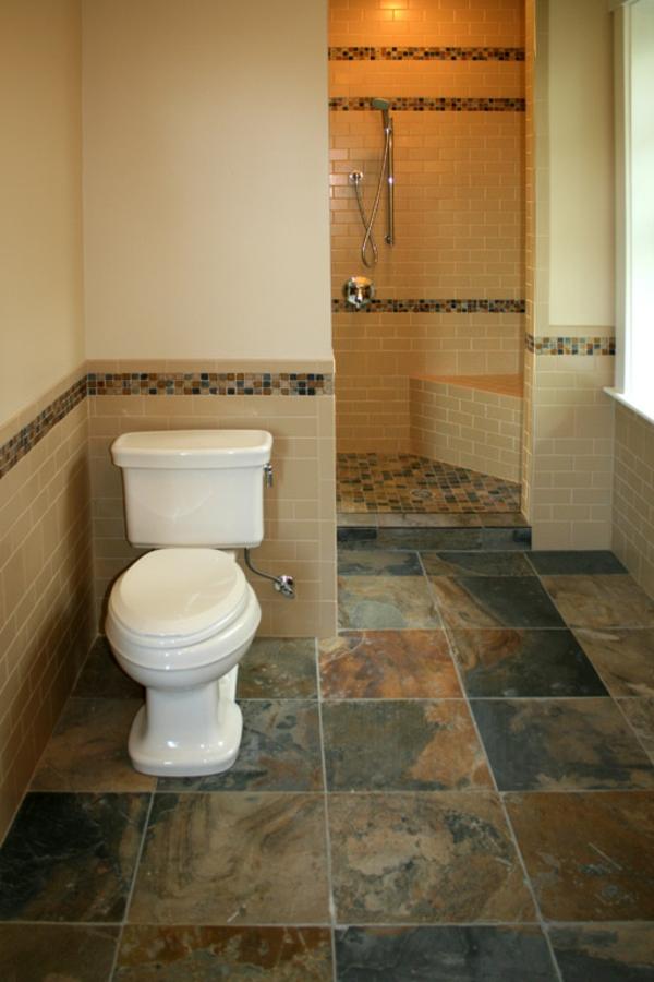 Le carrelage mural pour la salle de bain le style et la for Plancher pour salle de bain