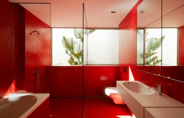 carrelage-mural-pour-la-salle-de-bain-très moderne