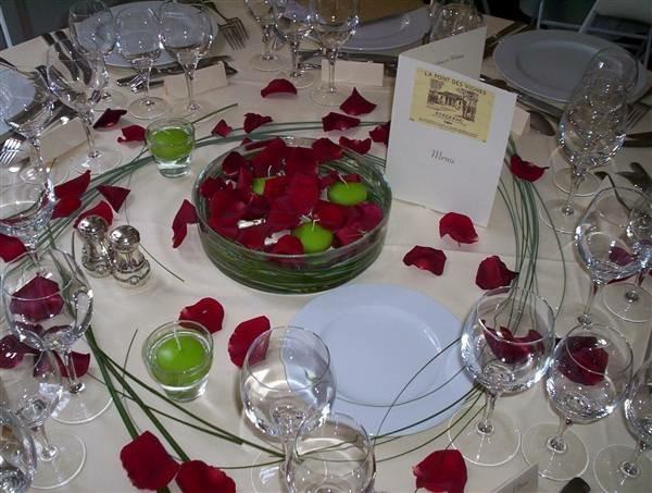La d coration de table de mariage des id es fascinantes - Decoration de table avec bougies ...