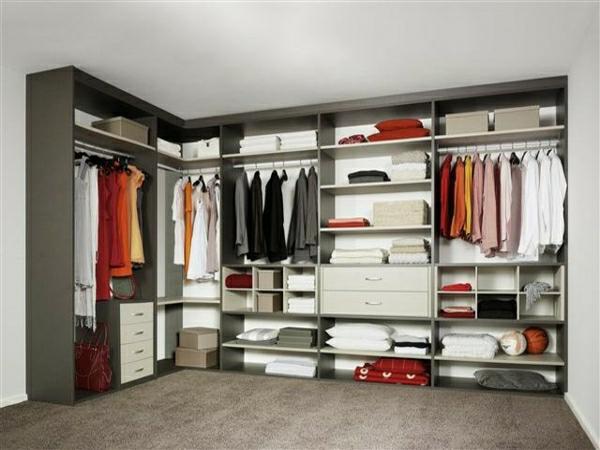 Faire une armoire dressing pour le design de votre maison - Meilleur couleur pour chambre ...
