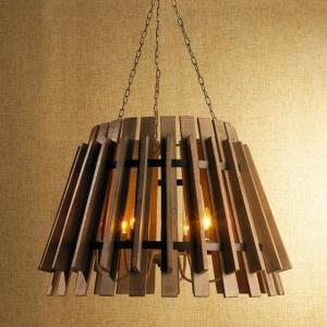 Chandelier en bois pour la décoration de votre intérieur