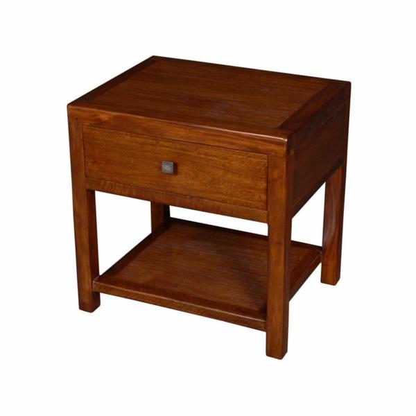Une table de chevet en bois choisir ou faire vous m me - Chevet bois exotique ...