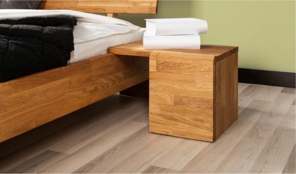 Une table de chevet en bois choisir ou faire vous m me - Table de chevet en pin pas cher ...