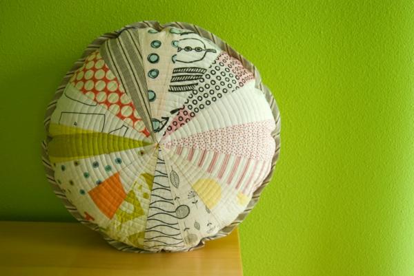 coussin-rond-multicolore