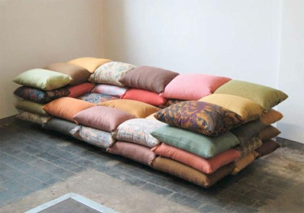 coussins-pour-le-design-du-canapé