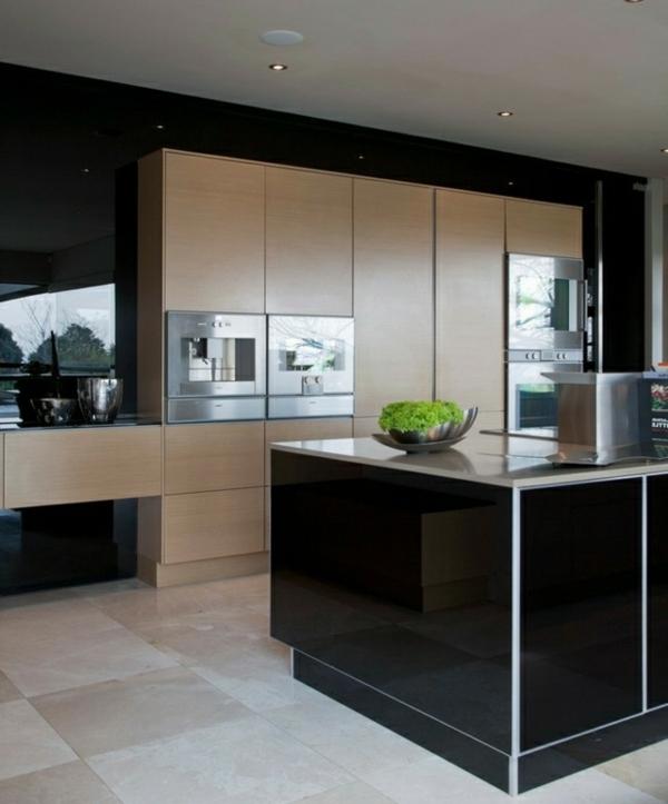 cuisine-design-moderne-îlot-laqué-noir-resized