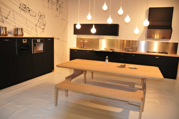 cuisine moderne avec tomettes inspiration de conception de maison. Black Bedroom Furniture Sets. Home Design Ideas
