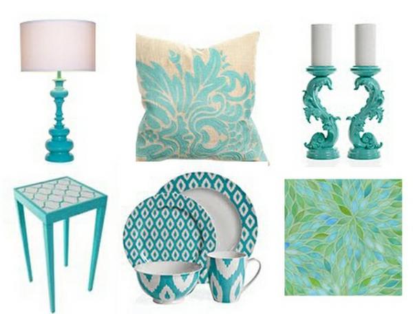 décoration-turquoise-élément