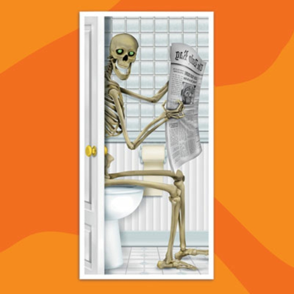 decoration-de porte-halloween-squelette