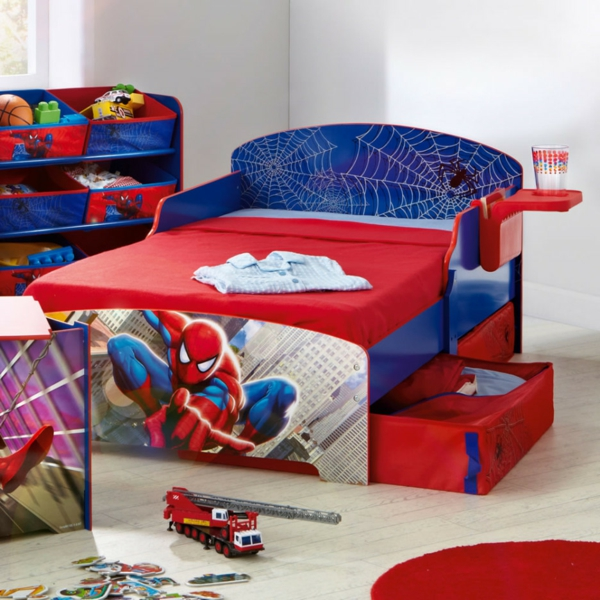 15 id es de d co pour chambre d 39 ado gar on for Decoration chambre spiderman