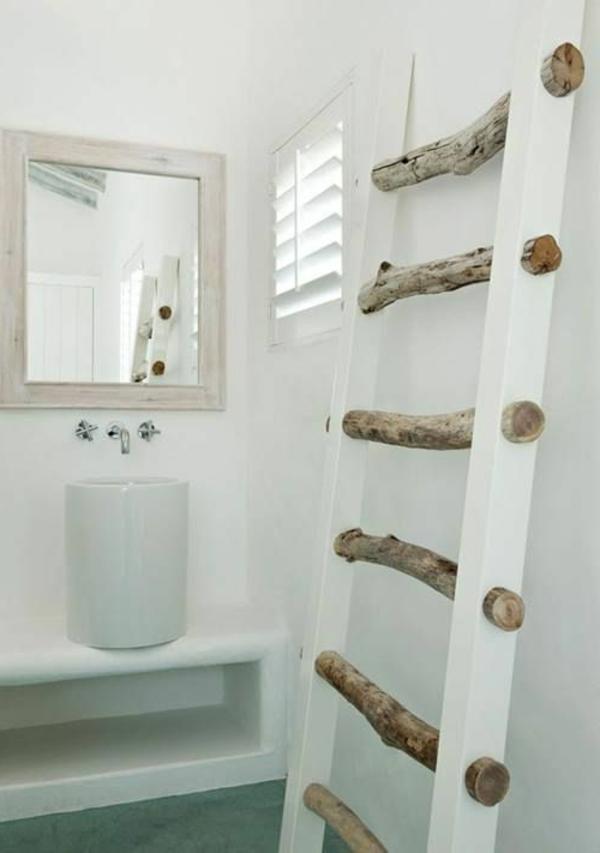 La d co de la maison objets en bois for Salle de bain deco bois