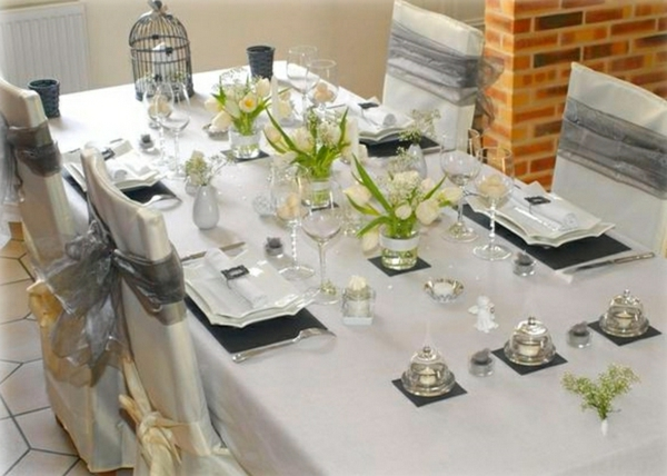 La d coration de table de mariage des id es fascinantes for Decoration table mariage