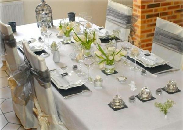 La d coration de table de mariage des id es fascinantes - Deco pour table de mariage ...