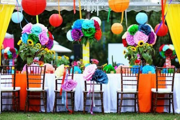 Une décoration de table pour anniversaire à ravir vos invités!