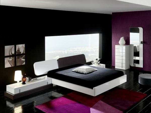 20 id es fascinantes pour d coration de chambre coucher pour homme. Black Bedroom Furniture Sets. Home Design Ideas