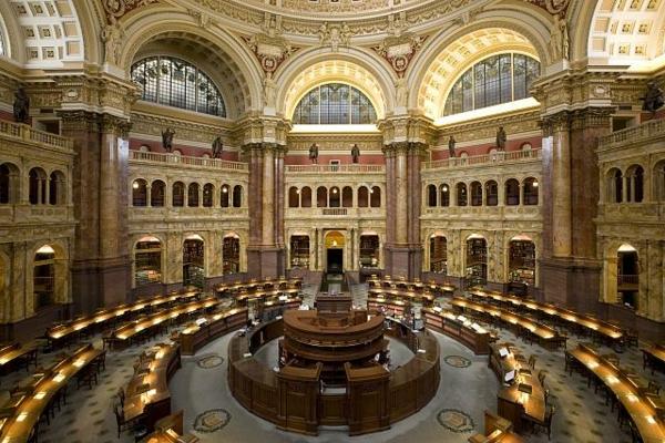 design-intérieur-architecture-unique-bibliothèque-du-congress