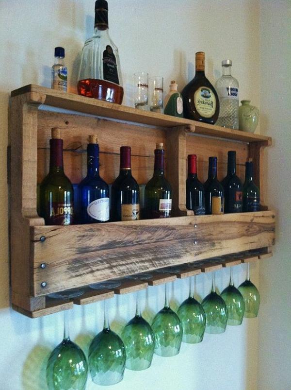 La d co de la maison objets en bois for Idee deco bar maison