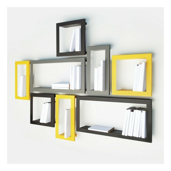 Une cadre photo carton diy for Decoration murale jaune moutarde
