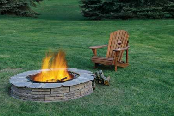 Easy Backyard Fire Pit Designs : peut servir de grill Chemin?e portable ? ?thanol Chemin?e design