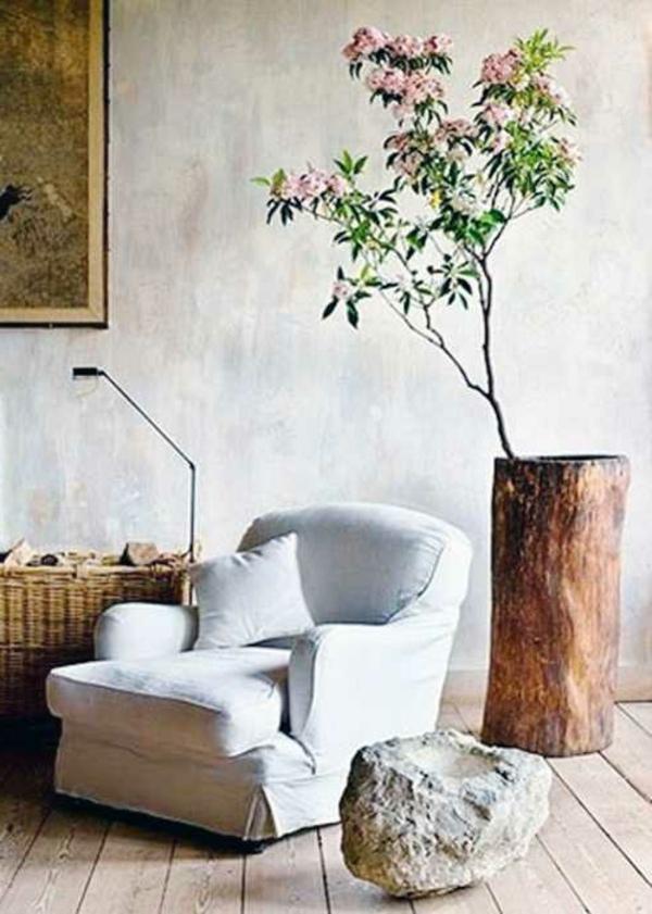 fauteuil-blanc-deco-murale-en-bois