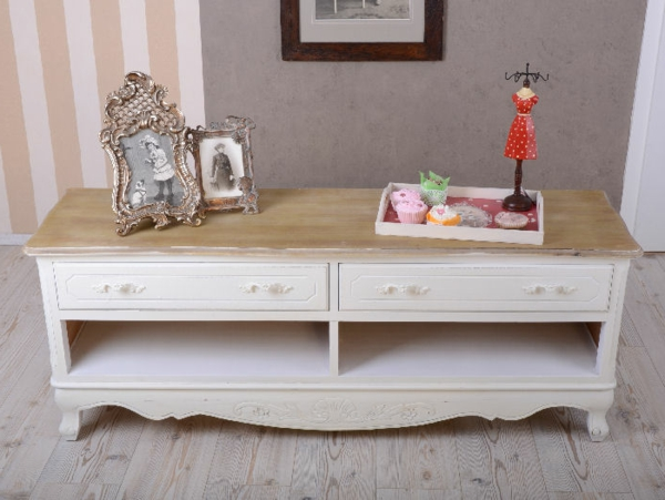 meuble-vintage-table-avec-tiroirs