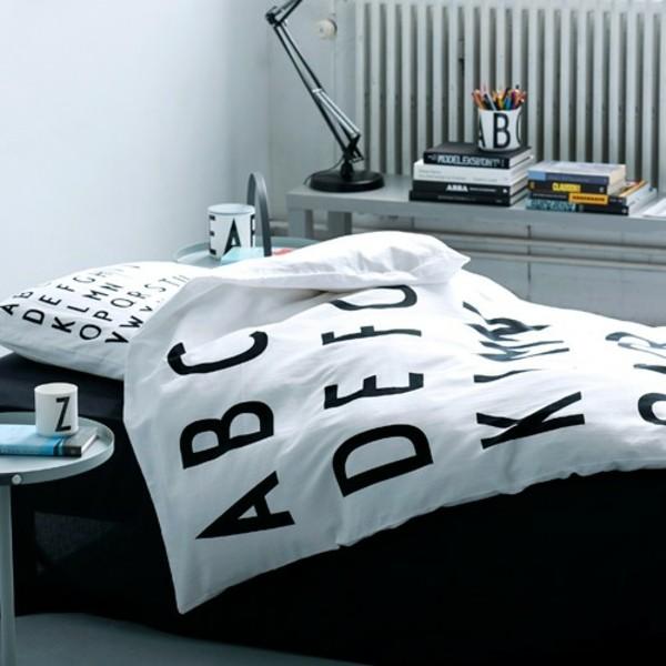 Le linge de lit design la subtile impression de luxe - Housse couette design ...