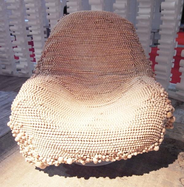 L 39 housse pour fauteuil voltaire en couleur claire for Housse fauteuil relax