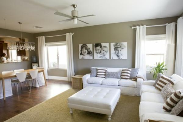 Deco salon blanc ivoire avec des id es int ressantes pour la c - Deco maison original ...