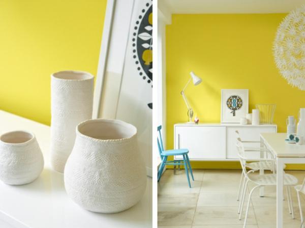 jaune-déco-mural-
