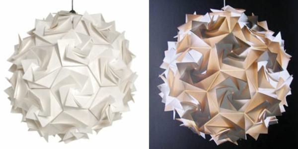 lampe-origami-couleur-blanche-et-corale