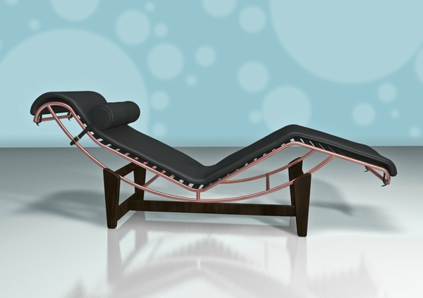 le corbusier chaise longue pour votre confort. Black Bedroom Furniture Sets. Home Design Ideas