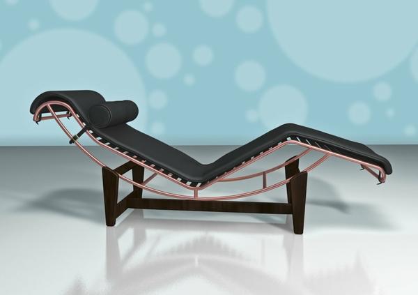 le-corbusier-chaise-longue-cuir-noir