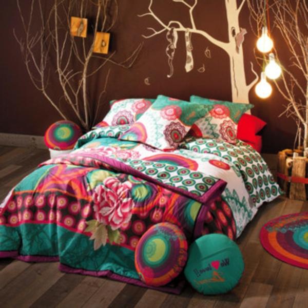 couvre lit desigual Le linge de lit design   la subtile impression de luxe  couvre lit desigual