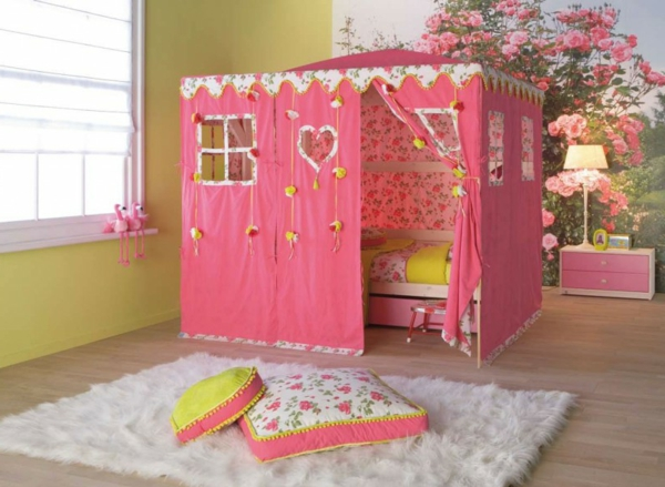 lit-d'enfant-avec-tiroirs-dortoir-rose-adorable