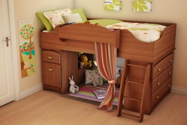 lit-d'enfant-avec-tiroirs-meuble-multifonctionnel-intéréssant