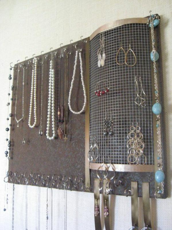 métalique-décoration-mural-pour-ranger-ses-bijoux