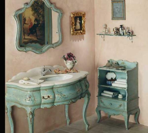 Les meubles vintages comme un accent romantique for Meuble accent la sarre