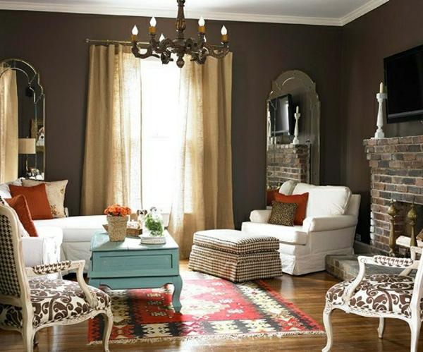 meuble-vintage-une-chambre-de-séjour