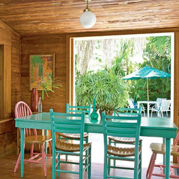 les meubles vintages comme un accent romantique. Black Bedroom Furniture Sets. Home Design Ideas