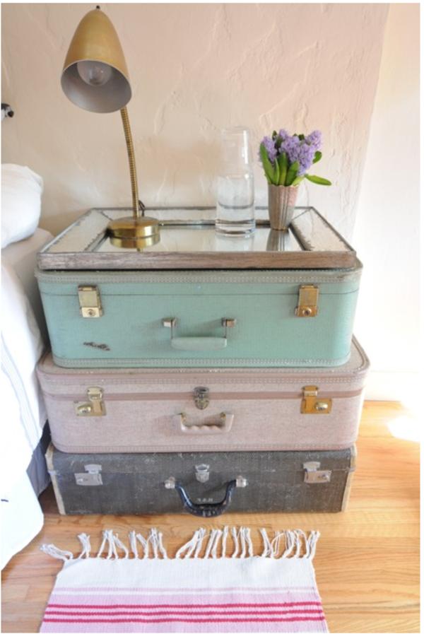 Les meubles vintages comme un accent romantique - Meuble tv retro pas cher ...