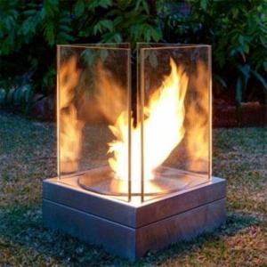 La cheminée d'extérieur crée l'ambiance de votre jardin ou terrasse