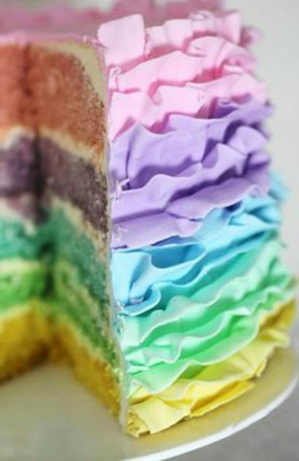 multicolore-déco-de-gateau