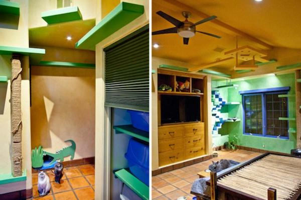mur-vert-escalier-original
