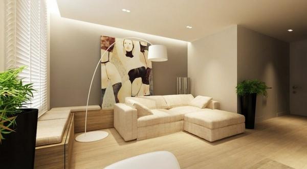 La maison et d co avec des peintures cool for Peinture mural salon