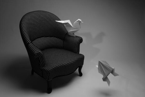 noir-canapé crapaud-oiseau