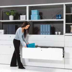 Découvrez le rangement pour le bureau à la maison