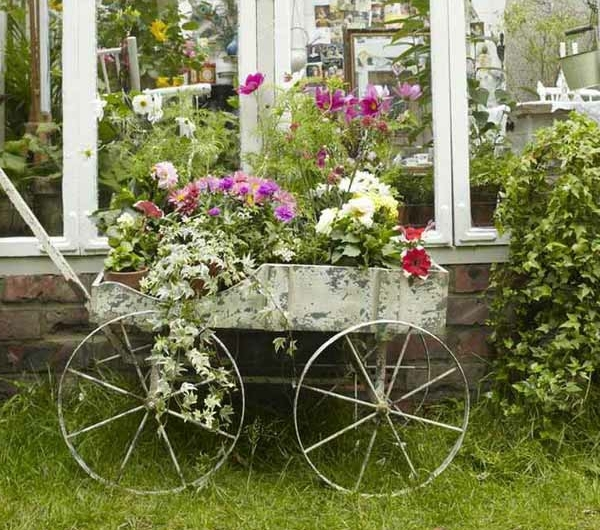 Les accessoires de jardin pourquoi pas changer l for Accessoire deco jardin