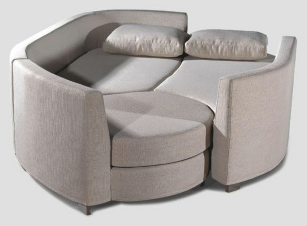 Le design du canap convertible pratique et confortable for Canape original design